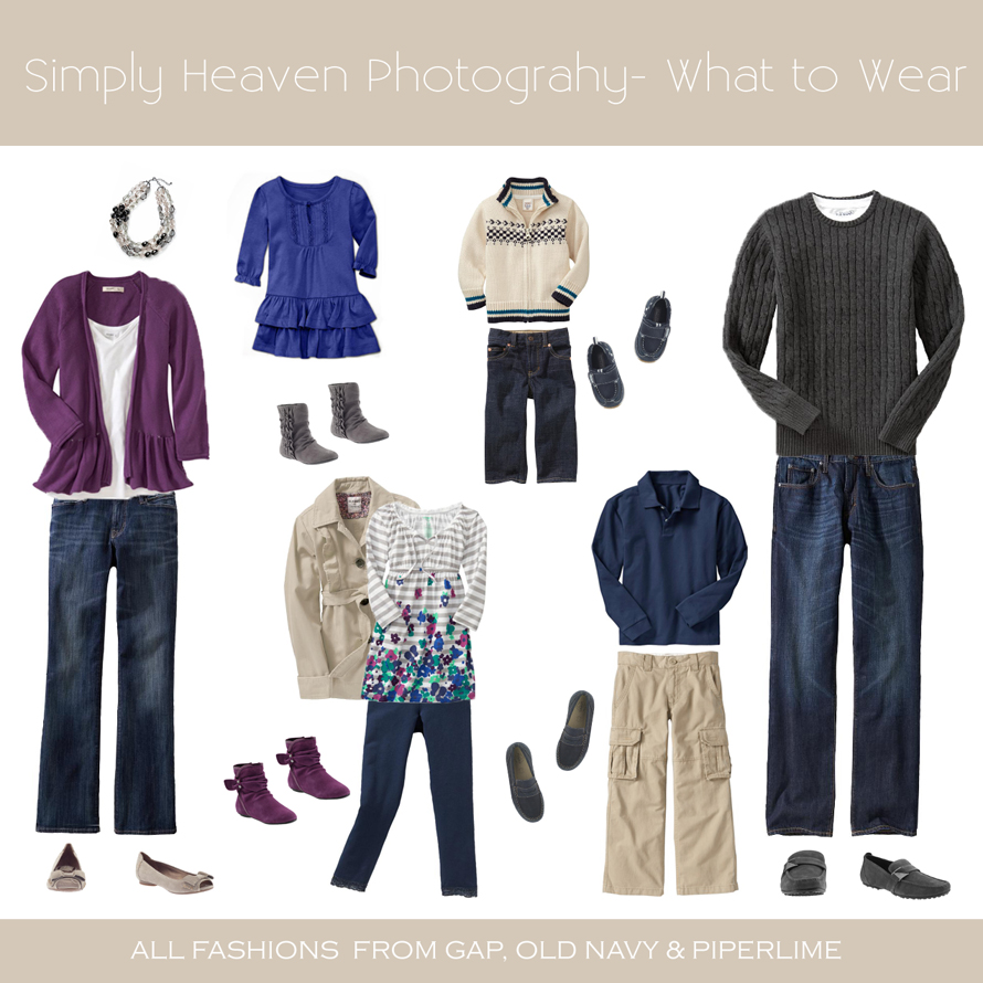 Fall Family Photo Ideas What To Wear What to Wear to your F...